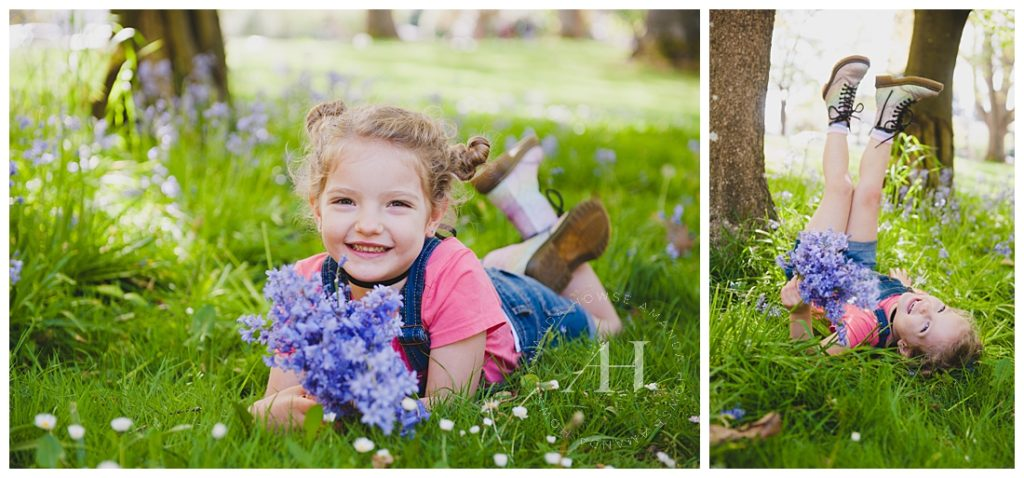 Fun summer portraits with family sessions photographed by Tacoma photographer Amanda Howse
